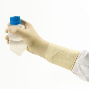 Shield Skin Xtreme Sterile White Nitrile 330 DI+ - Guantes de Nitrilo Estériles