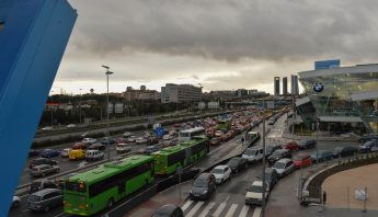Traffic in Madrid